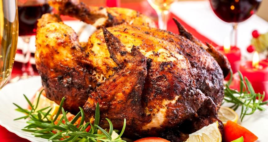 Pollo Horneado Navideño