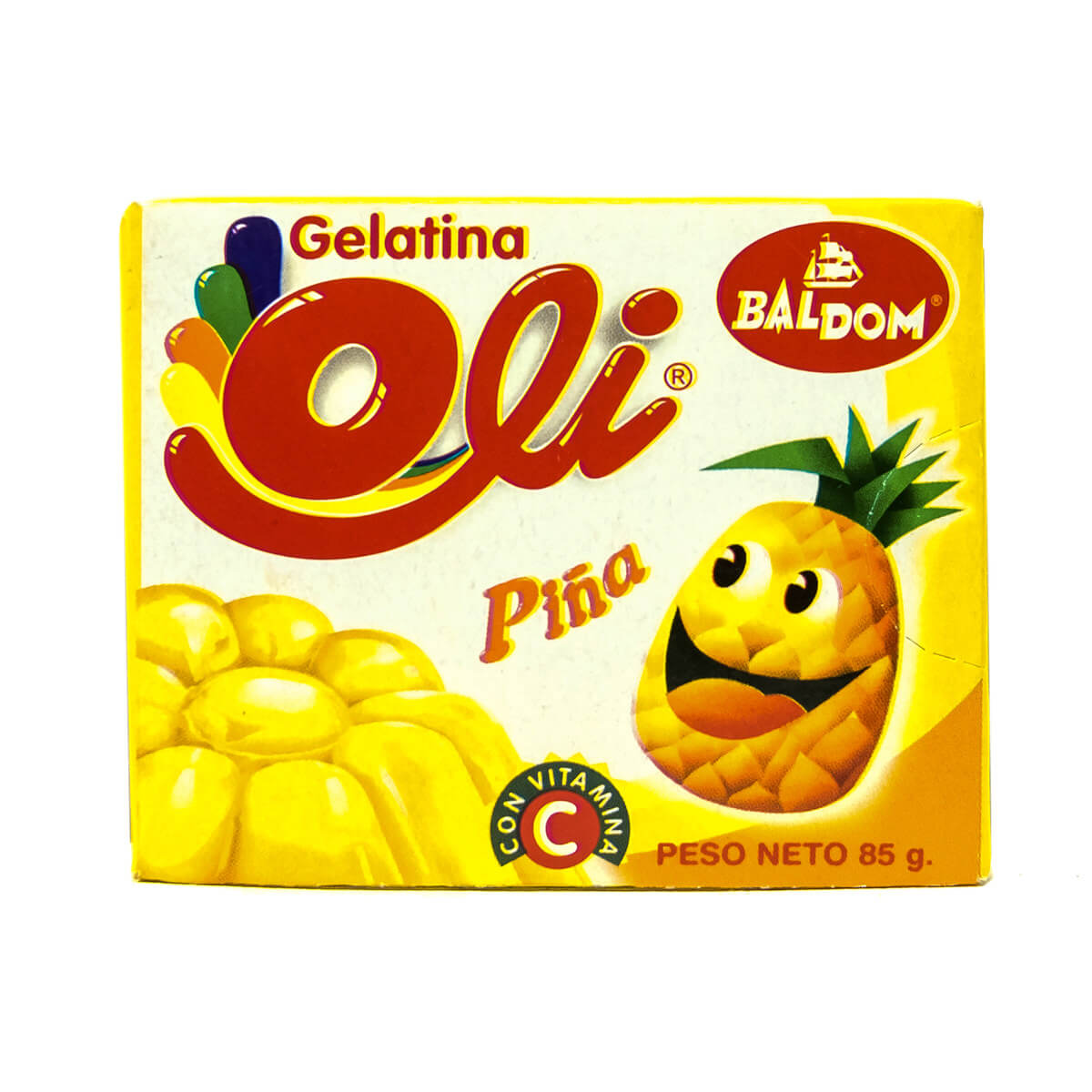 Gelatina Piña Oli
