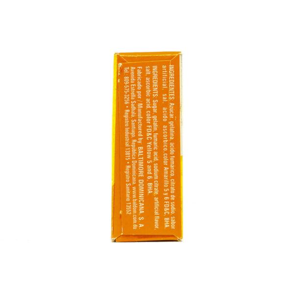 Gelatina Naranja Oli