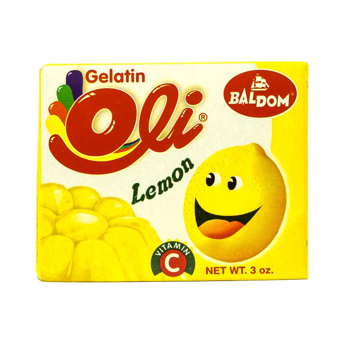 Gelatina Limon Oli