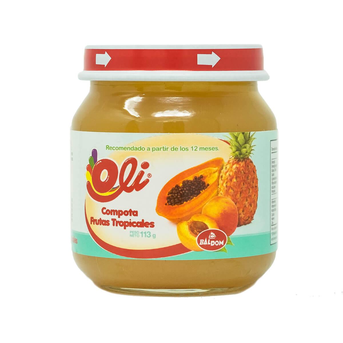 Compota Fruta Tropical Oli