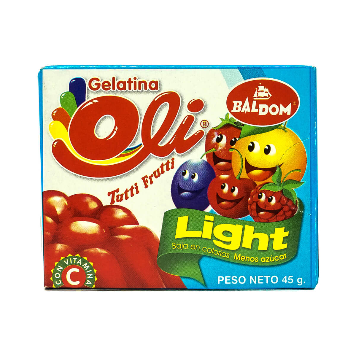 Gelatina Tuttifruti Light Oli
