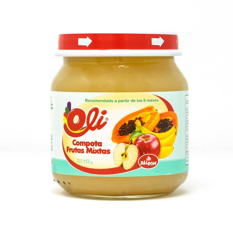 Compota Manzana y Piña Oli