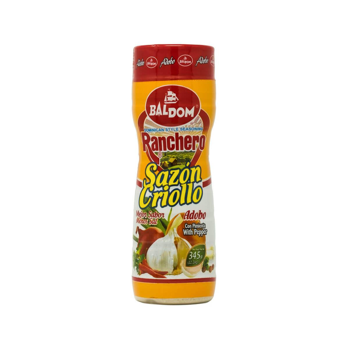 Sazón Criollo Adobo Ranchero con pimienta