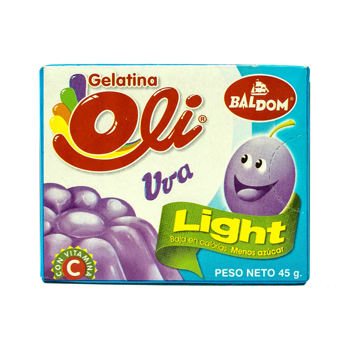 Gelatina Uva Light Oli