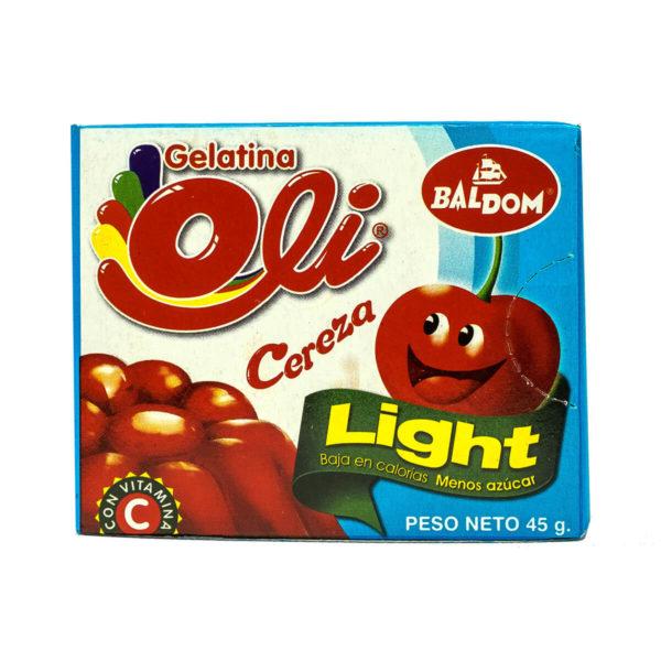 Gelatina Cereza Light