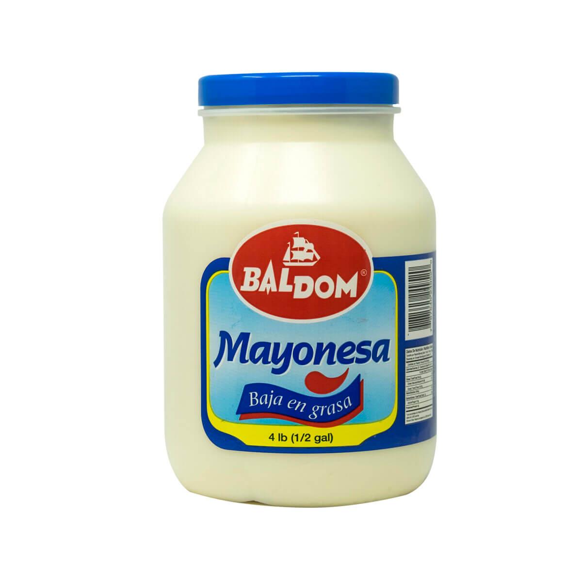 Mayonesa Baja en grasa 1/2 galón