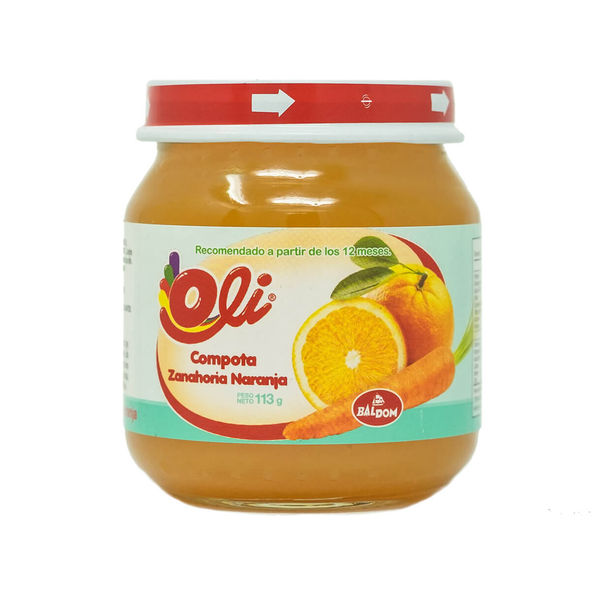 Compota de Naranja Zanahoria Oli