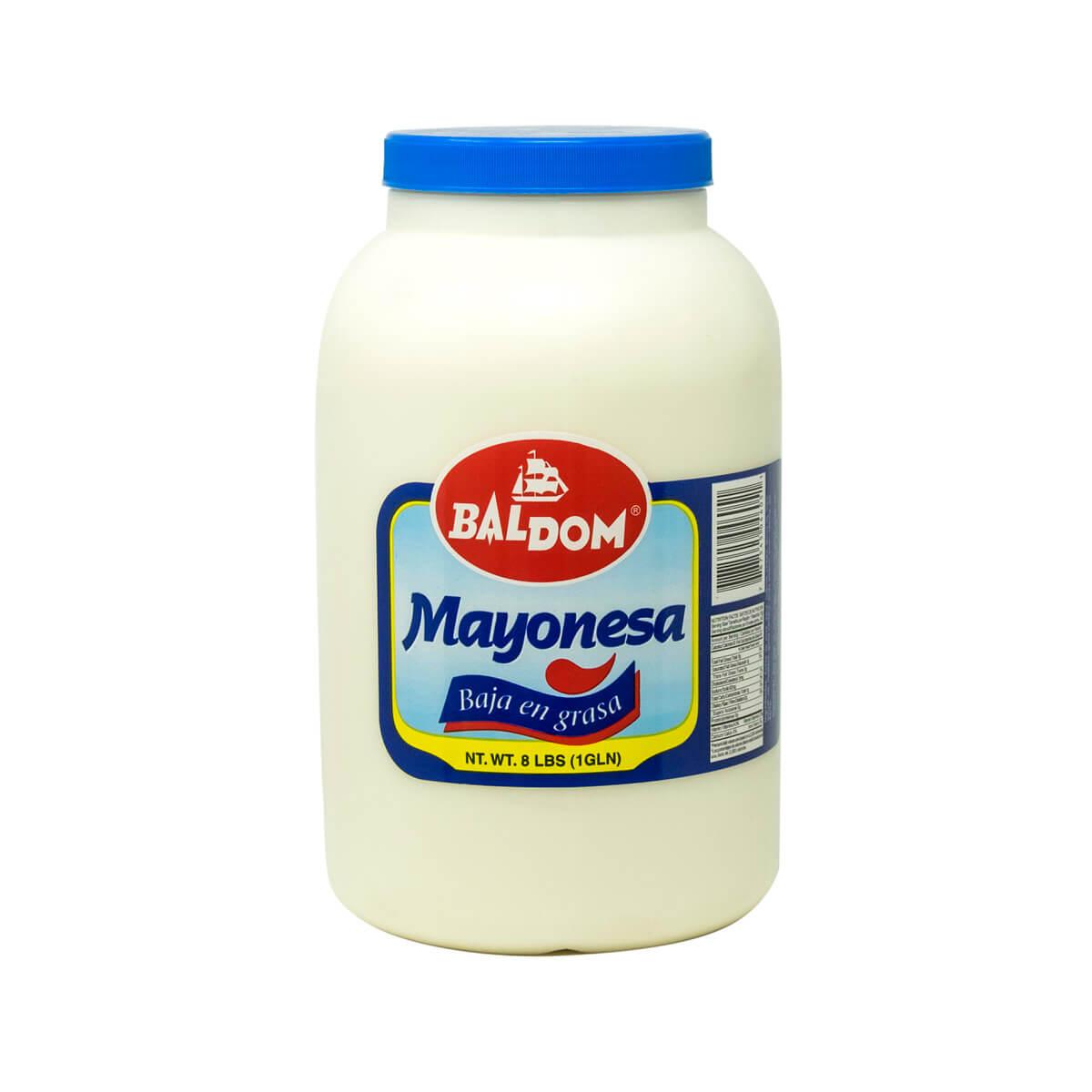 Mayonesa baja en grasa