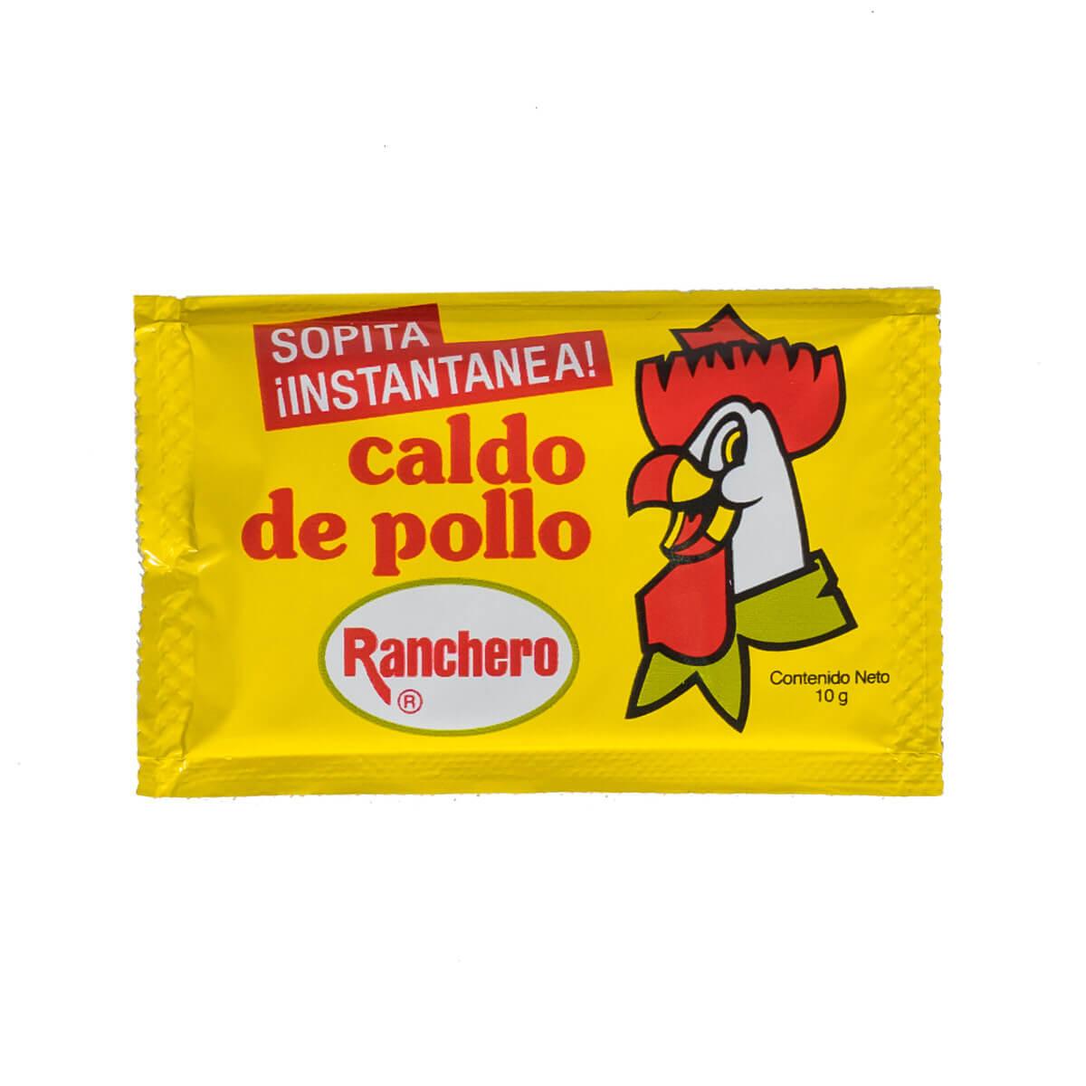 Caldo de pollo en sobre